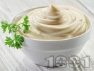 Рецепта Домашна веган майонеза с бадемово мляко